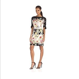 🦋 Julian Taylor Floral Dress